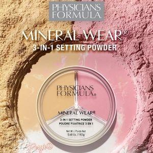 💛🏵️Physician' Formula 3•in•1 Setting Powder 🏵💛